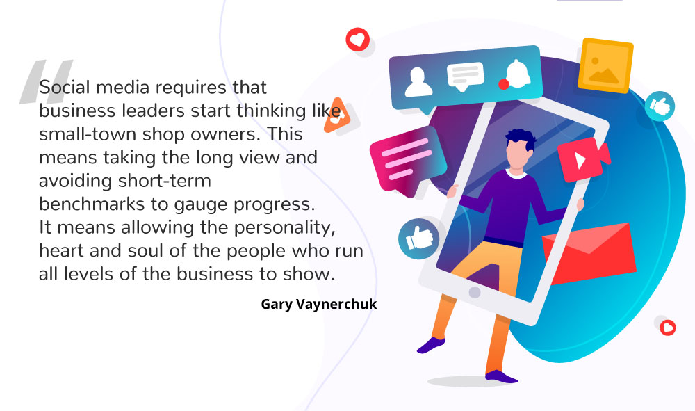 Gary Vee About social media and boosting online business