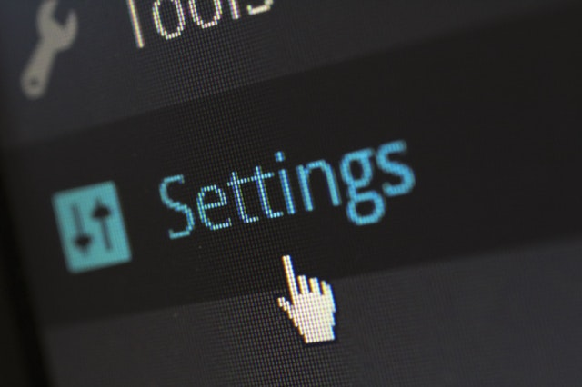 Secure wordpress settings